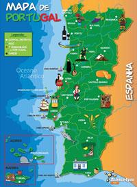 www mapa de portugal pt Puzzle Mapa de Portugal (80 Peças)   Puzzle Infantil   Compre na  www mapa de portugal pt