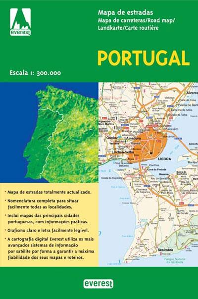 mapa de estradas portugal actualizado Mapa de Estradas   Portugal   Vários, Vários   Compre Livros na  mapa de estradas portugal actualizado