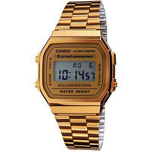 abd3c9bbfee Casio Relógio Collection A168WG-9EF (Dourado) - Relógio - Compra na Fnac.pt