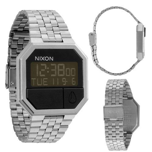 bf734672e9b Nixon Relógio The Re-Run (Prateado Preto) - Relógio - Compra na Fnac.pt