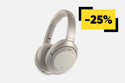 Casques Sony WH-1000XM3