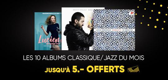10 Albums Classique/Jazz du Mois