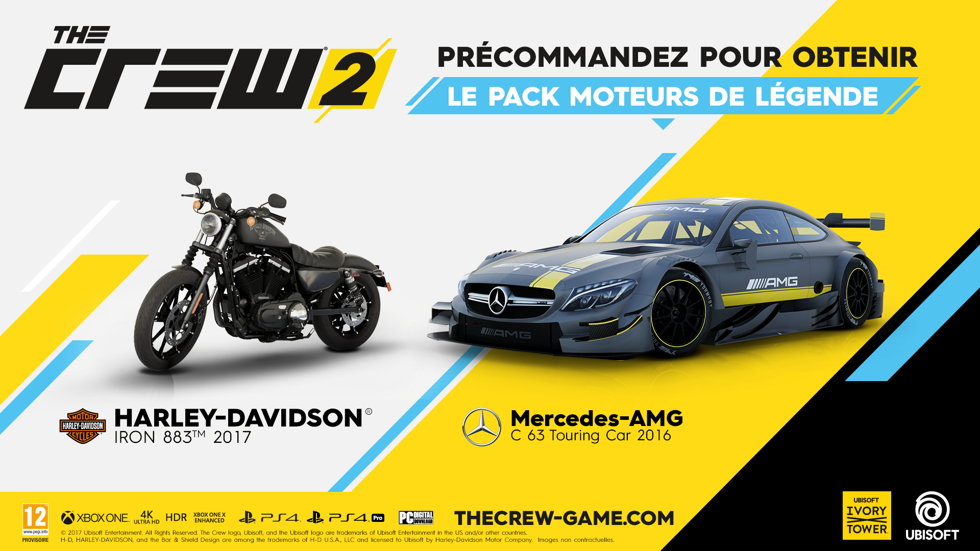 the crew 2 xbox one sur xbox one pr commande prix fnac. Black Bedroom Furniture Sets. Home Design Ideas