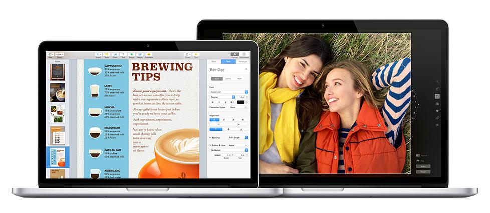 applications macbook pro