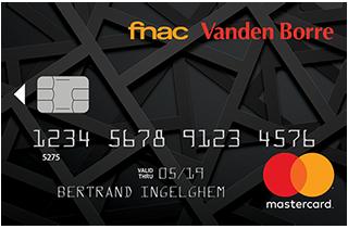 carte Mastercard Fnac Vanden Borre
