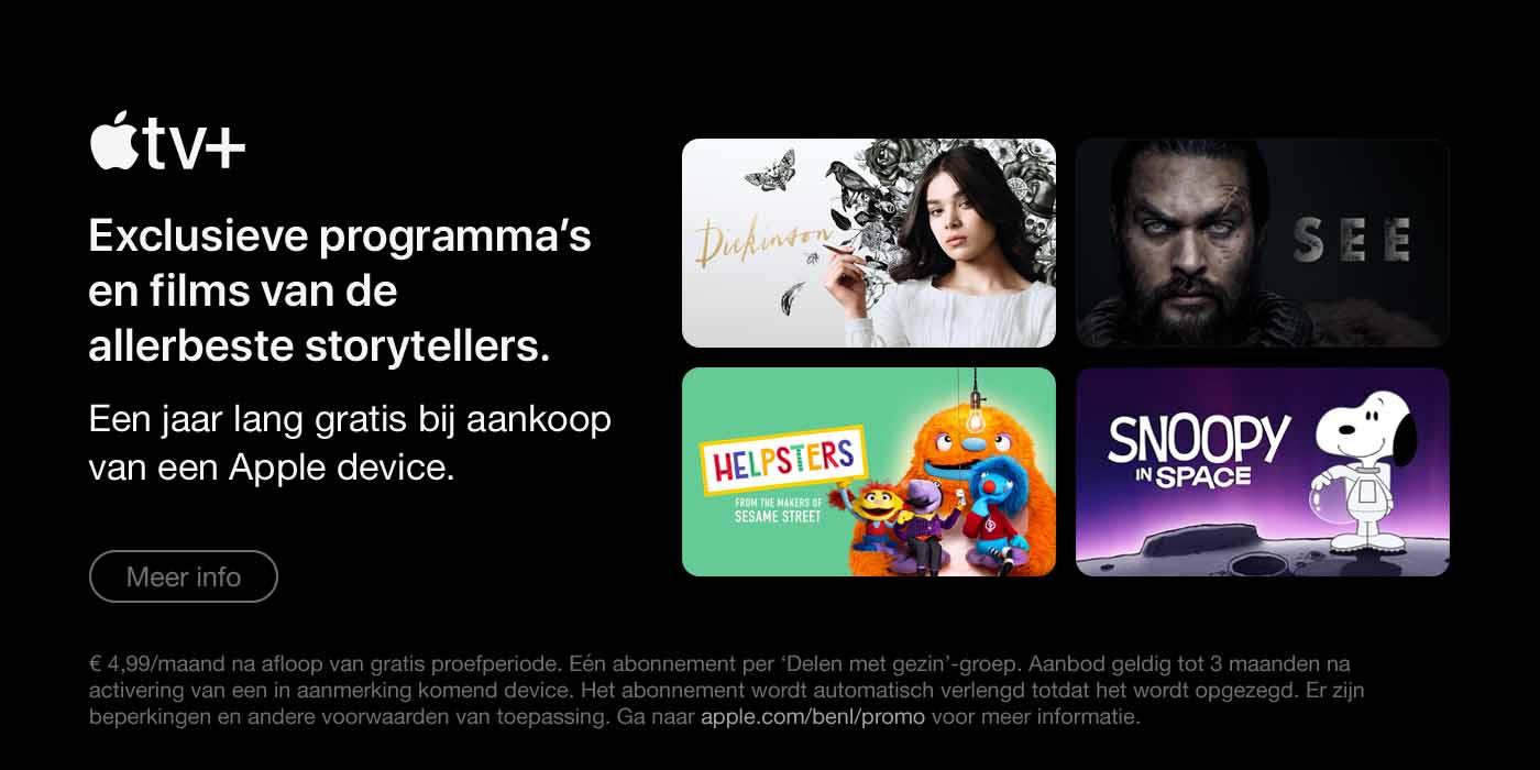 Apple TV + Exclusieve programma's en films van de allerbeste storytellers'