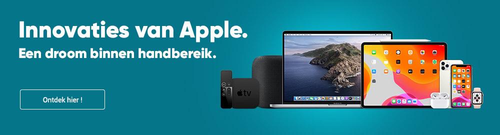 Innovaties van Apple. Een droom binnen handbereik.
