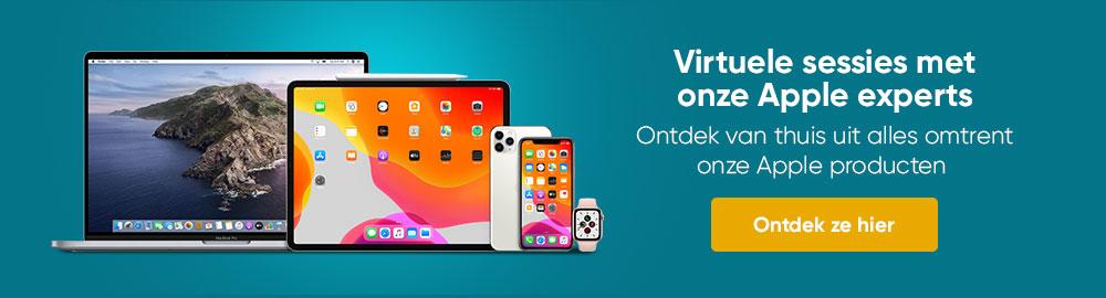 Virtuele sessies met onze Experts Apple