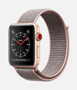 apple watch 3 prix et fonctions des montres s rie 3. Black Bedroom Furniture Sets. Home Design Ideas