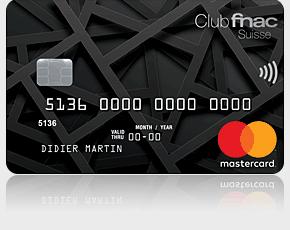 Carte Mastercard Fnac