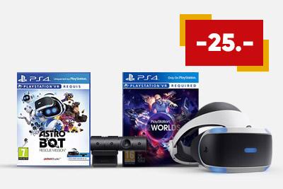Playstation VR + Astrobot