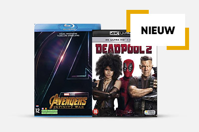 Nieuwe DVD's