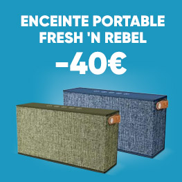 Enceinte Portable Fresh 'N Rebel