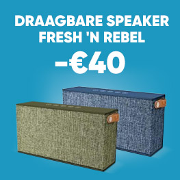Draagbare speaker Fresh 'N Rebel