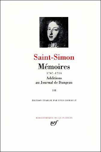Mémoires / Additions au Journal de Dangeau (Tome 3)