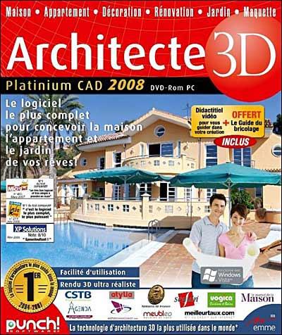 Architecte 3d Platinium 2008