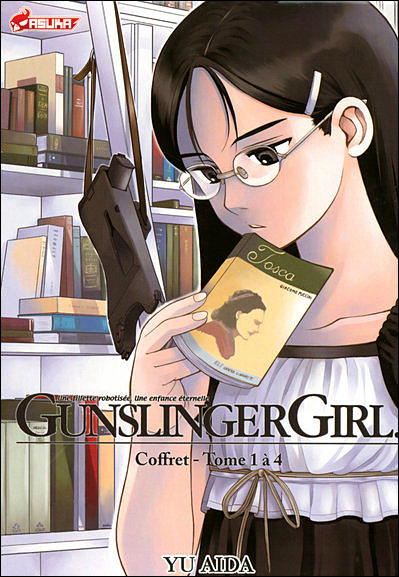 Gunslinger girl - Coffret 4 volumes Tome 1  à Tome 4 : Gunslinger girl
