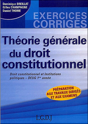Exercices de droit constitutionnel et institutions politiques