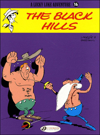 Lucky Luke - tome 16 The black hills