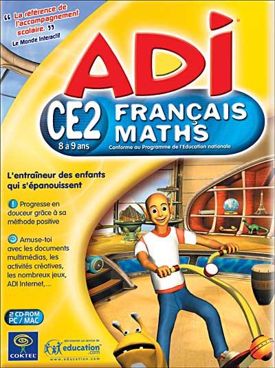 Adi 5 Francais Maths Ce2 Cd Rom Achat Prix Fnac