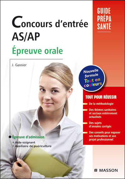 Concours d'entrée AS-AP, aide-soignant et auxiliaire de puériculture