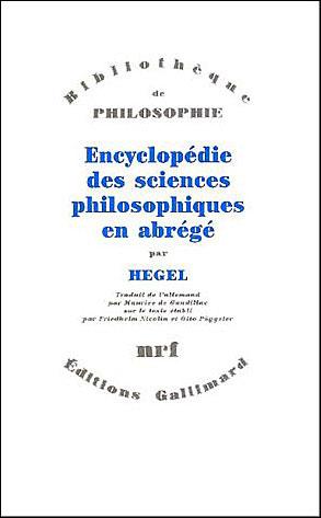 encyclopédie des sciences philos.en abrege 1830
