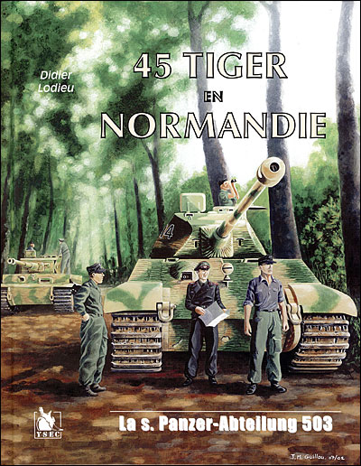 45 tiger en Normandie