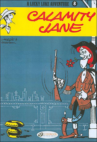 Lucky Luke - tome 8 Calamity Jane