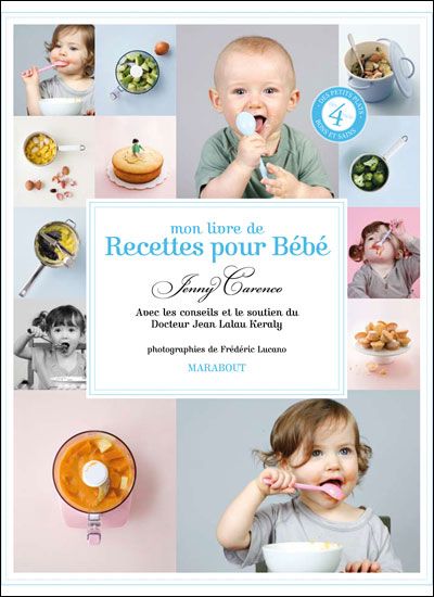 Mon Livre De Recettes Pour Bébé - Broché - Jenny Carenco - Achat