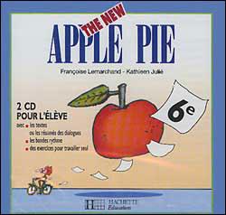 The New Apple Pie 6e LV1 - Anglais - 2 CD élève