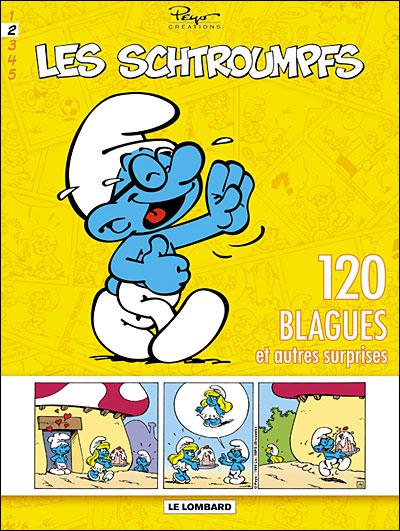 Schtroumpfs (120 Blagues) - Tome 2 - 120 blagues et autres surprises