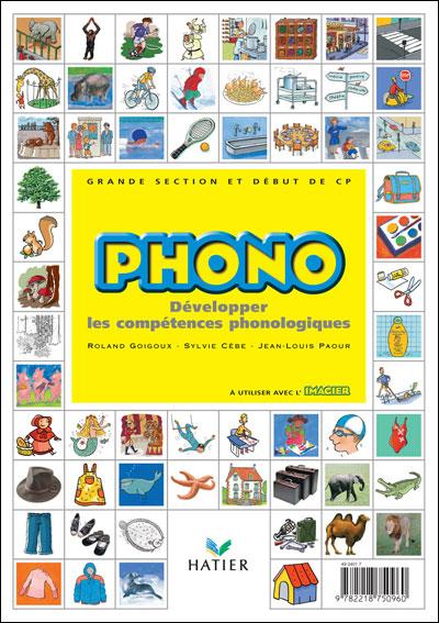 PHONO - GS-CP Éd. 2004 - Guide pédagogique