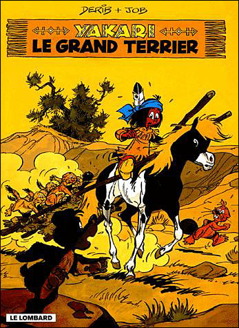 Le grand terrier - tome 10 - Yakari