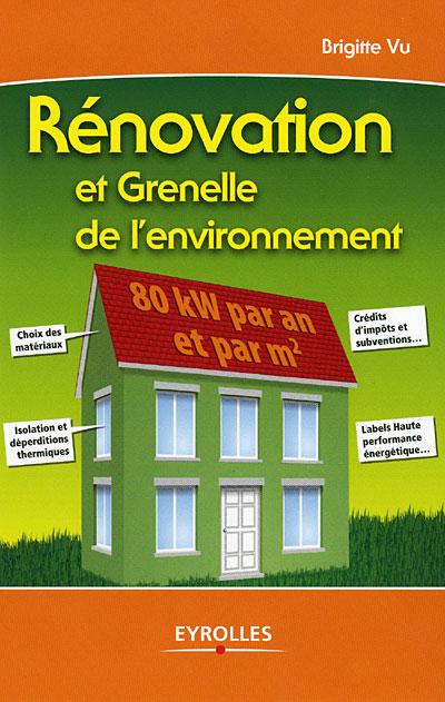 Rénovation et  Grenelle de l'environnement