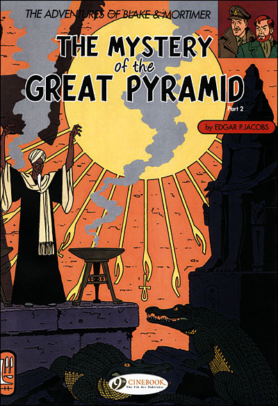 Blake & Mortimer - tome 3 The Mystery of the greatpyramid partie 2