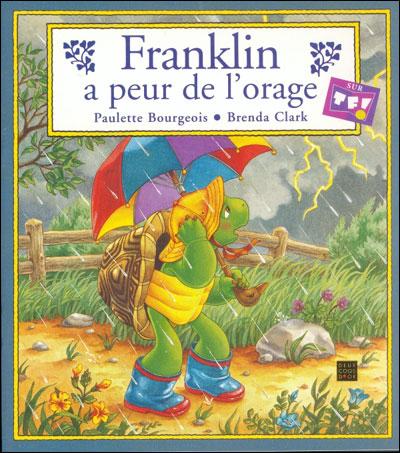 Franklin -  : Franklin a peur de l'orage
