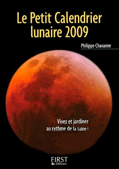 Le petit calendrier lunaire 2009