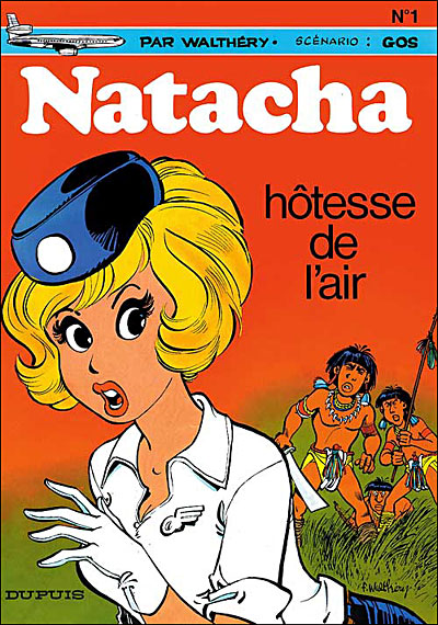 Natacha, hôtesse de l'air