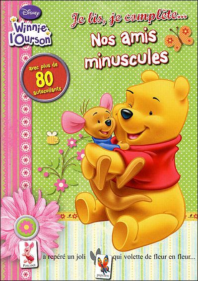 Winnie l'Ourson - Livre avec autocollants : Nos tout petits amis