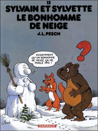 Sylvain et Sylvette - Le Bonhomme de neige