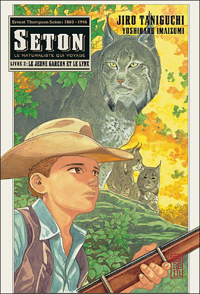Le jeune garçon et le lynx