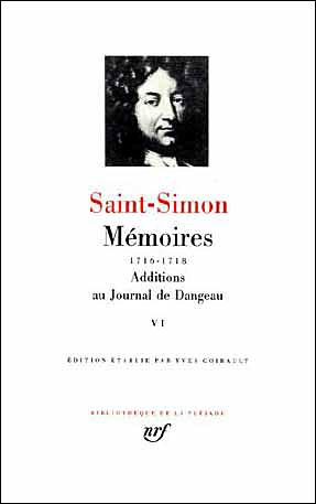 Mémoires / Additions au Journal de Dangeau (Tome 6)