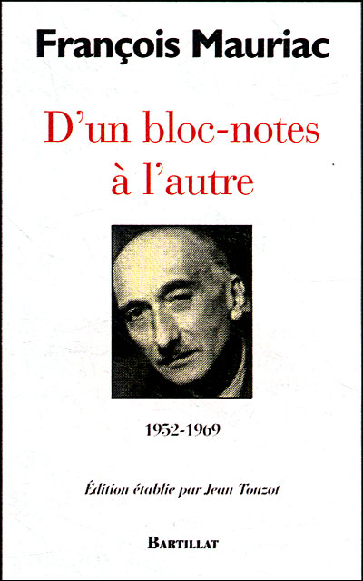 D'un bloc-notes à l'autre 1952-1969