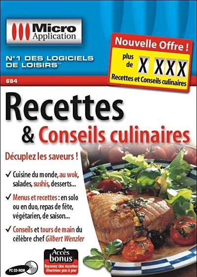 - SubTitle Des recettes actuelles, originales et faciles à cuisiner ! - Editeur Micro Application - Public