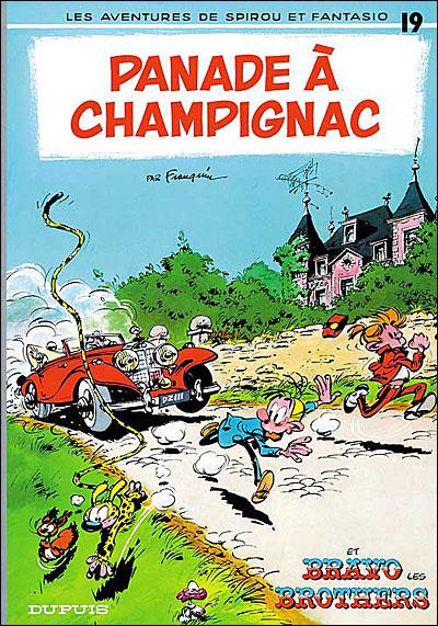 Panade à Champignac - tome 19 - Spirou Et Fantasio