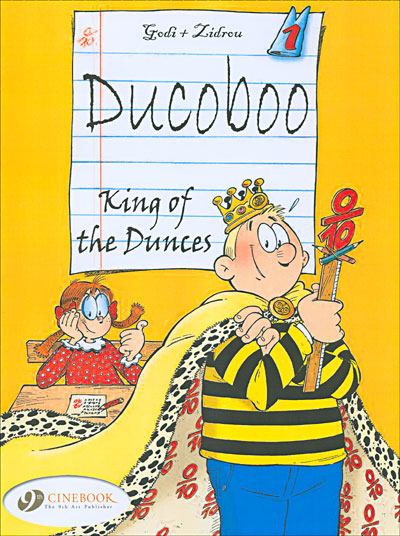 Ducoboo - tome 1 King of Dunces