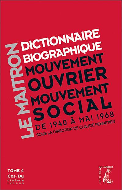 Dictionnaire biographique mouvement 1940-1968