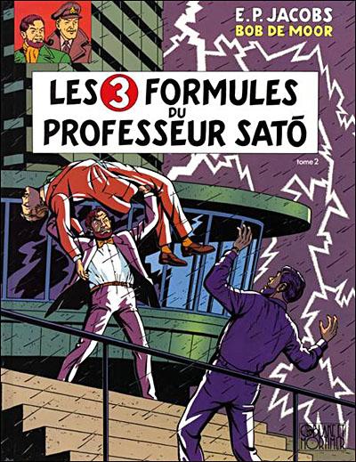 Blake & Mortimer - Tome 12 - Les 3 Formules du Professeur Sat?