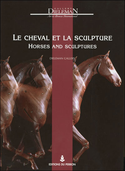 Horses and sculptures