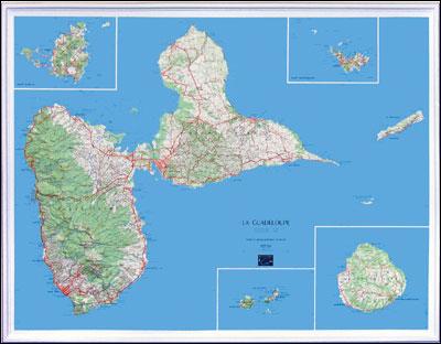 Guadeloupe Echelle au 1:100 000   broché   Collectif   Achat Livre